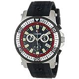 Calibre Men's SC-4H2-04-007.4 Hawk Chrono Analog Display Quartz Black Watch