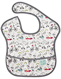Bumkins Waterproof SuperBib, Urban Bird, (6-24 Months)