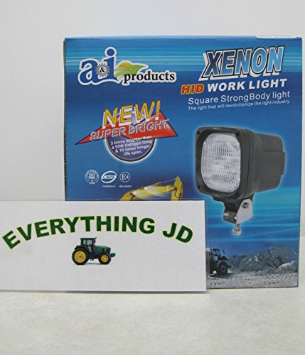 A & I Products Work Lamp; HID,Flood, 55W Parts. Replacement for Allis Chalmer... by StevensLake (Image #4)