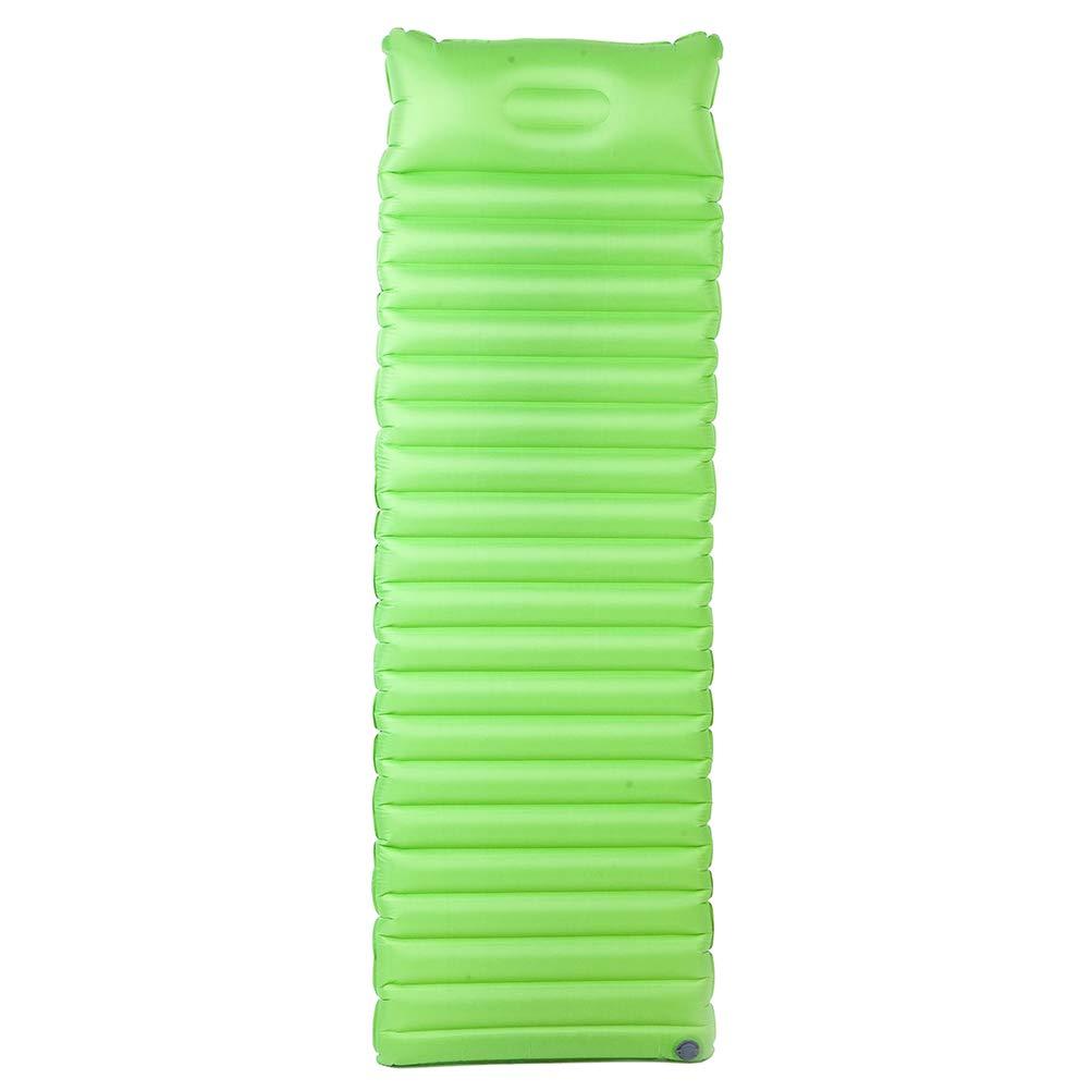 Vert  LIOOBO Tapis de Couchage en Plein air Camping Tapis de Couchage Tapis de Couchage Pratique pour Les Voyages en Plein air sur la Plage