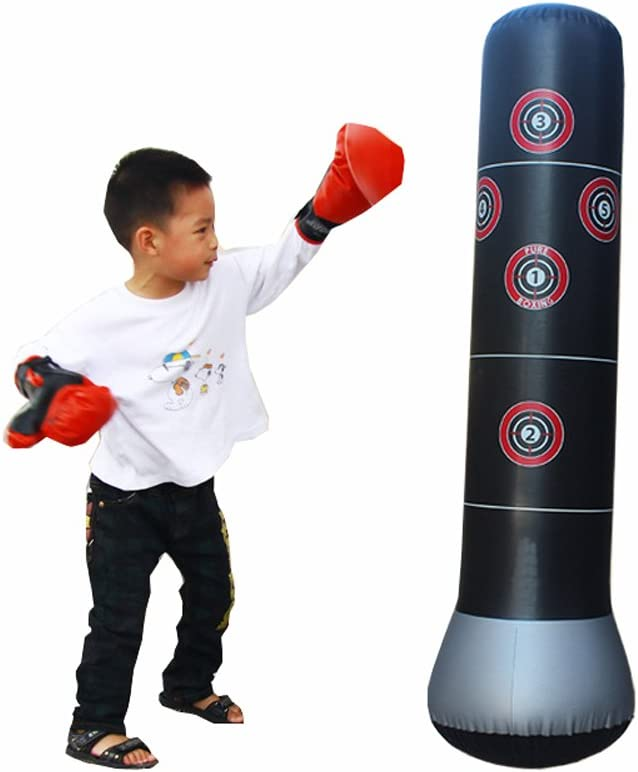 Inflatable Boxing Punching Stress Punch Tower Speed Bag Target Favor Bag N7W7