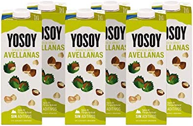 Yosoy - Bebida de Arroz con Avellanas - Caja de 6 x 1L: Amazon.es ...