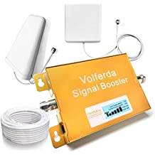 Volferda Cell Phone Signal Booster 1900MHz Band 2 Single Band Mobile Repeater For 2G/3G/4G T-Mobile,AT&T 2G/4G Verizon,Sprint