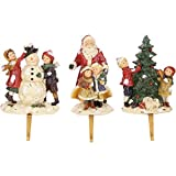 Mark Roberts Night Before Christmas Stocking Holders - Set of 3