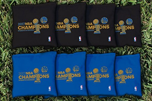 Victory Tailgate Golden State Warriors 2017 NBA Champions Replacement Cornhole Bag Set (Corn-Filled) by Victory Tailgate