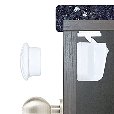 Magnetic Cabinet Lock: Baby Proofing Cabinets, and Drawer Lock (8 Locks, 2 Keys) by Honeypie that we recomend individually.