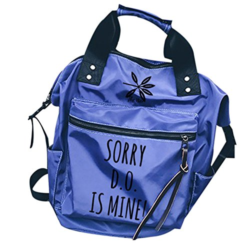Do Kpop Bags Canvas blue EXO Schoolbag Backpack pencil Shoulder Bag Backpack set Book case Messenger ZxvROavd
