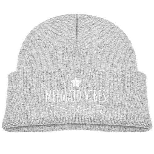 Mermaid Vibes Beanie Caps Skull Hats Baby