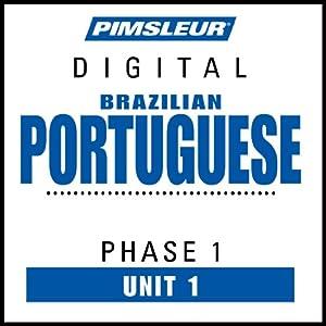 Portuguese (Brazilian) Phase 1, Unit 01 Audiobook