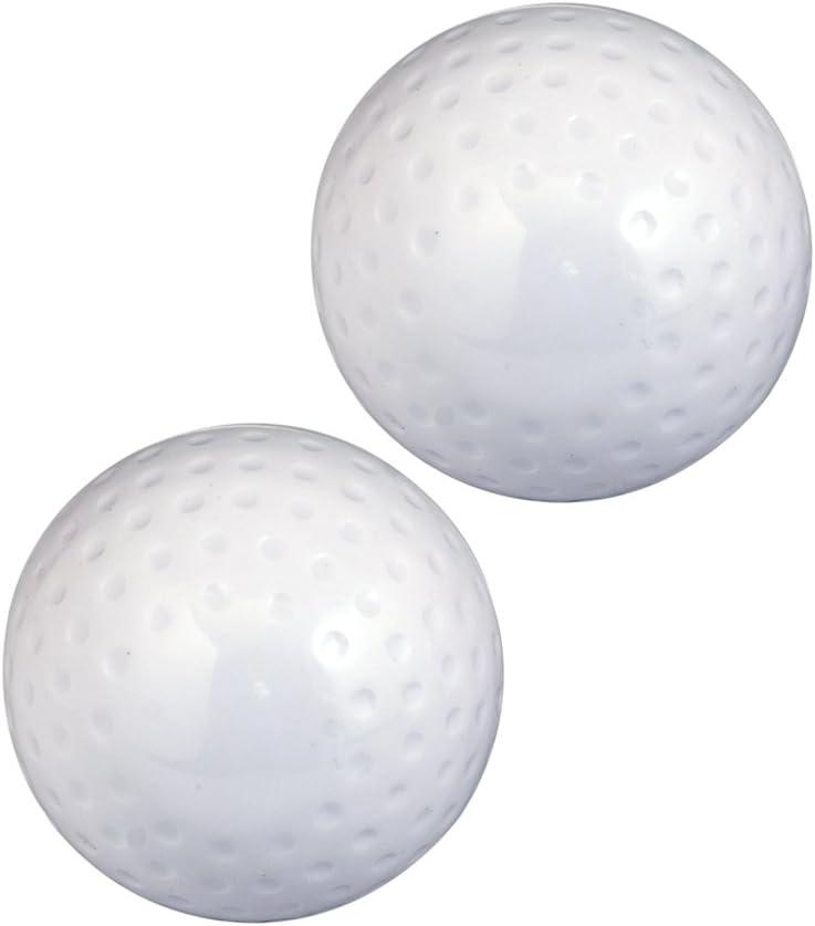Set de 2/pelotas de hockey Kosma para deportes al aire libre pelotas de entrenamiento hechas de PVC