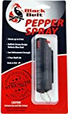 Black Belt Pepper Spray (Black Hard Case) For Sale