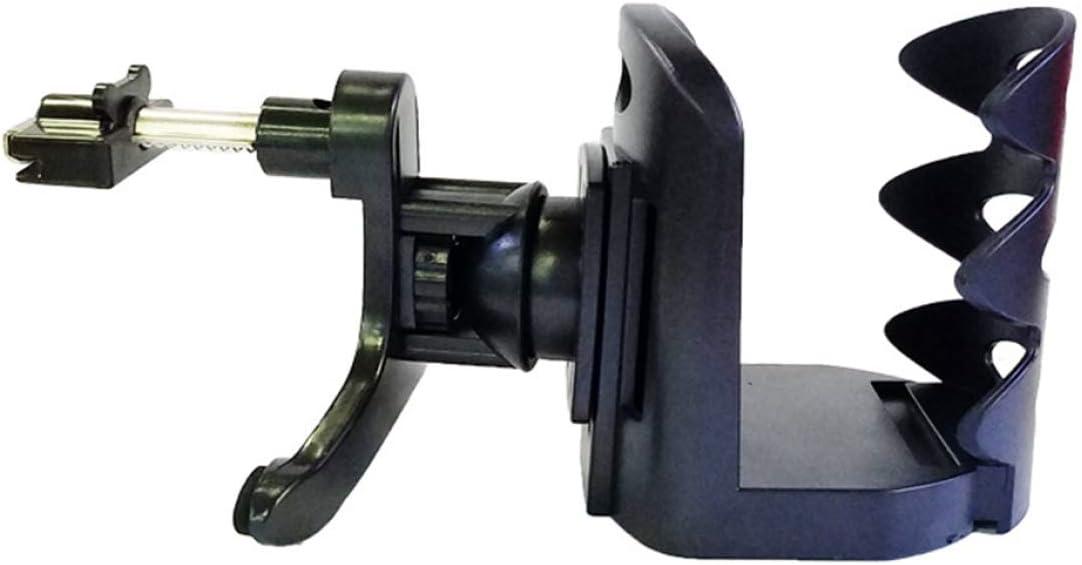 DK-tre Elaborate Gobelet universel pour voiture Fixation sur grille da/ération Support de bouteille r/églable