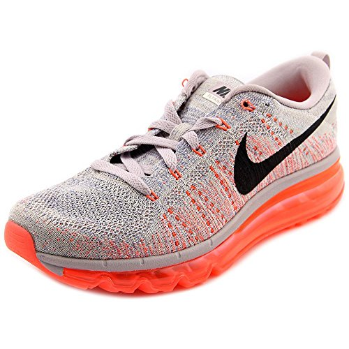 NIKE WMNS Flyknit Air Max 620659-508 Violet Ash/Black/Orange Women's Shoes (Size 6.5)