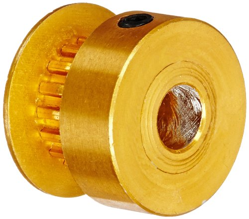 Gates PB10MXL012 PowerGrip Aluminum Timing Pulley 10 Groove For 1//8 Width Belt 1//8 to 1//8 Bore Range 0.255 Pitch Diameter 2//25 Pitch