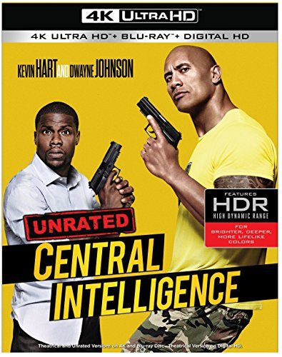 4K Blu-ray : Central Intelligence (With Blu-Ray, 4K Mastering)