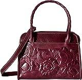 Patricia Nash Women's Paris Satchel Burgundy Handbag