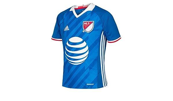 adidas Niños Fútbol MLS All Star Camiseta Jersey Top 2016 - 9 - 10 Años: Amazon.es: Ropa y accesorios