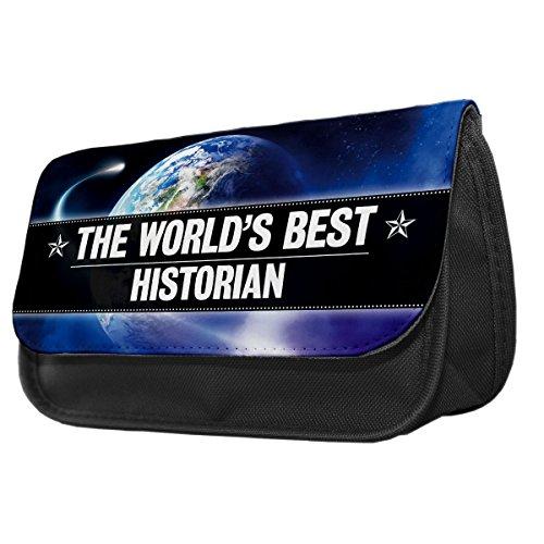 World s Best Historiker Bleistift Fall/Make-up Tasche 096