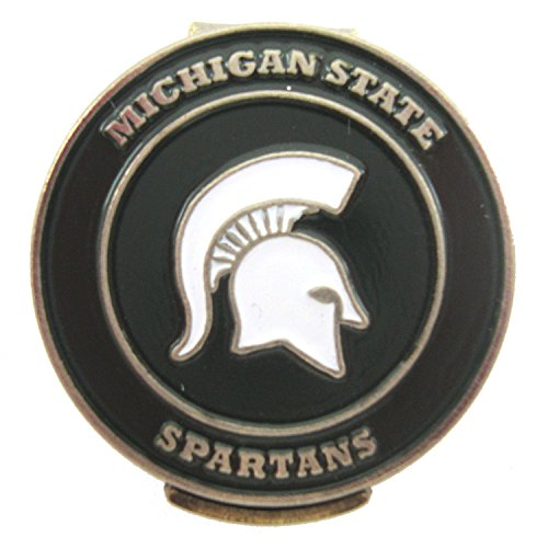 Michigan State Spartans Hat Clip with Golf Ball ()