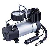 TIREWELL 12V Tire Inflator - Direct Drive Metal Pump 100PSI, Portable Air Compressor