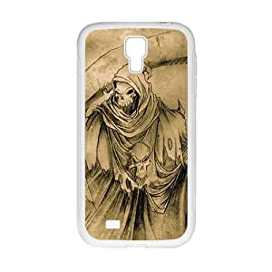 Scary Blood personalized creative clear protective cell phone case for Samsung Galaxy S4