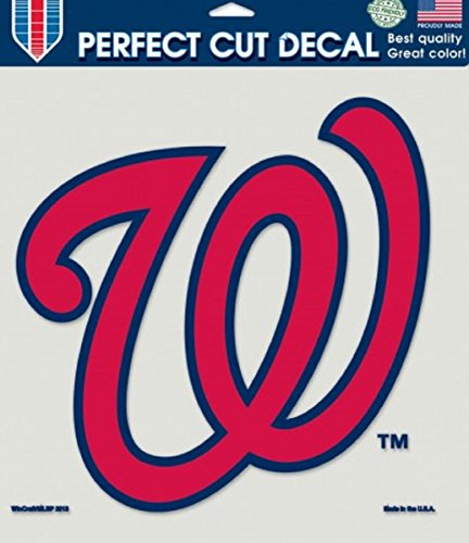 (Washington Nationals 8x8 Color Die-Cut Decal)