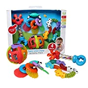 Playgro 4085432 Twist and Chew Activity Pack for baby infant toddler children
