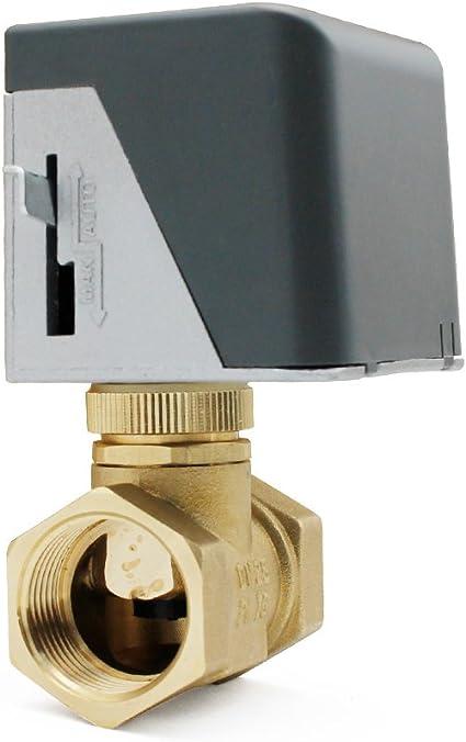 Riscaldamento Zona Motorizzata Valvola Sostituzione 2 Porte 3//4 Bsp Comp