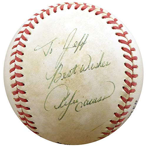 Andre Dawson Autographed Official NL Baseball Cubs, Expos