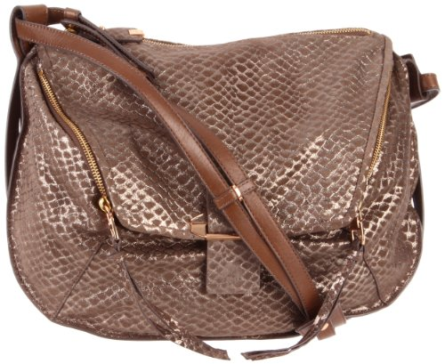 Kooba Leroy Cross Body,Metallic Taupe,One Size, Bags Central