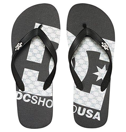 Hombre Para Print white Shoes Black Spray D0303276 De Dc Chanclas black Caucho Graffik 8CqT0