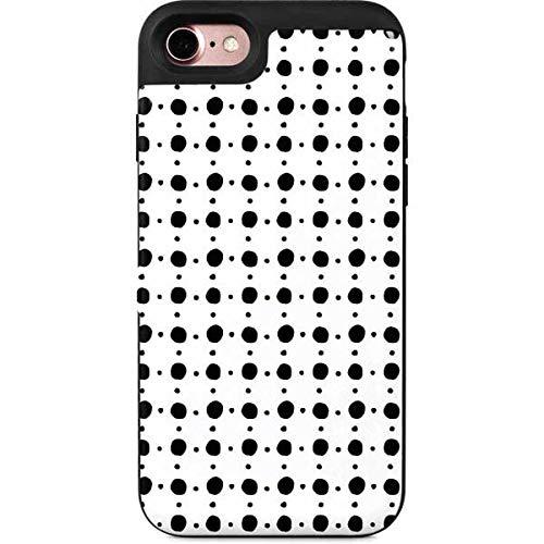 Amazon Com Skinit Patterns Iphone 8 Wallet Case Grid Dot Design