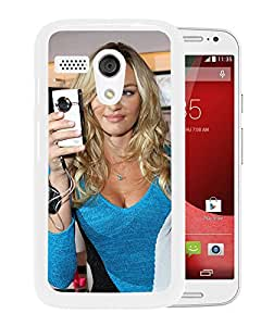 Beautiful Girl Cover Case For Motorola Moto G With Candice Swanepoel Girl Mobile Wallpaper(99) Phone Case