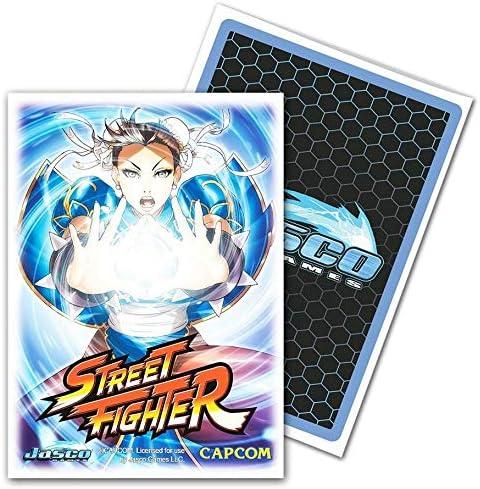 Dragon Shield Standard Size Classic Art Sleeves 100 Count Street Fighter Chun-Li Sleeves
