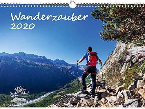 Wanderzauber - Calendario 2020, formato DIN A3, incluye 1 tarjeta ...