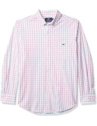 Men's Permit Classic Fit Cotton Performance Tucker Button-Down Shirt