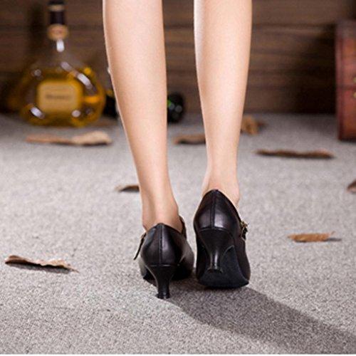 Tanzschuhe Latin Charakter Alle Wgwioo Stage Jane Damen Frauen black Dancewear Ferse Größen Mary Tango Salsa Ballroom wHxxIFq