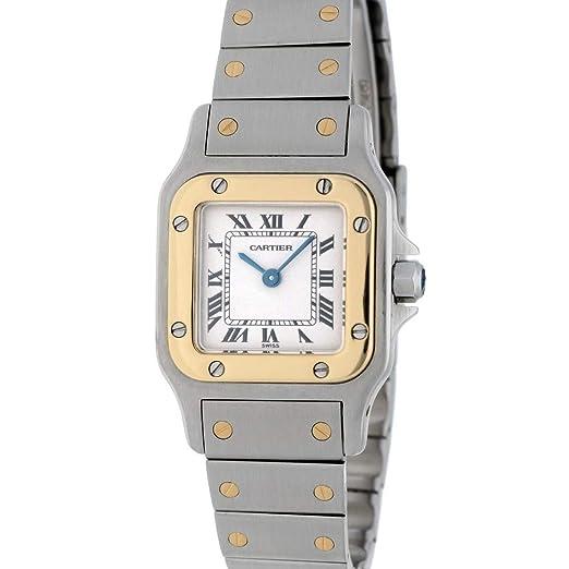 Cartier Santos Galbee Automatic-Self-Wind 1567 - Reloj de Pulsera para Mujer: Cartier: Amazon.es: Relojes