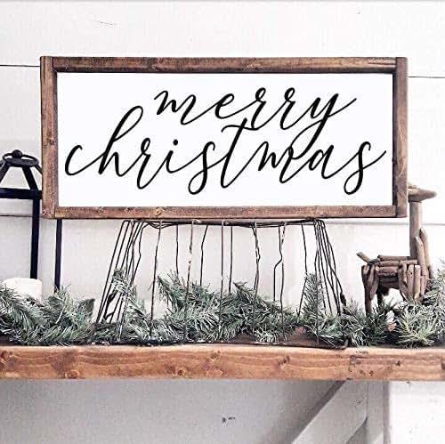 Amazon.com: Merry Christmas Holiday Decor Seasonal Home ...