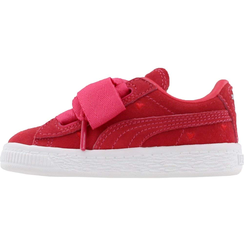 434083b8805 Amazon.com  PUMA Kids Womens Suede Heart Valentine (Toddler)  Shoes