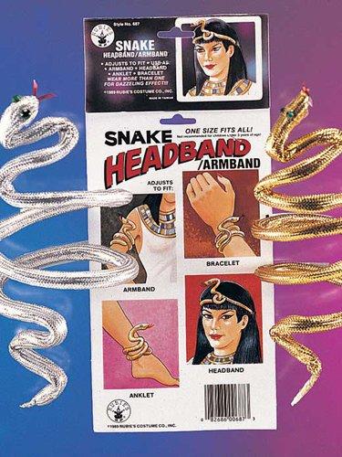 Rubie's Costume Co Snake Armband/Bracelet Costume Gold Costume