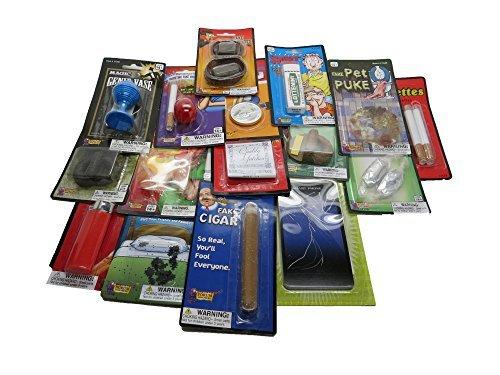 The Practical Joke Gag Gift and Prank Starter Kit Set (Gum Chucks Starter Kit compare prices)