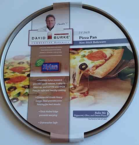 David Burke , 14 inch diameter Pizza Pan, Non-Stick Bakeware