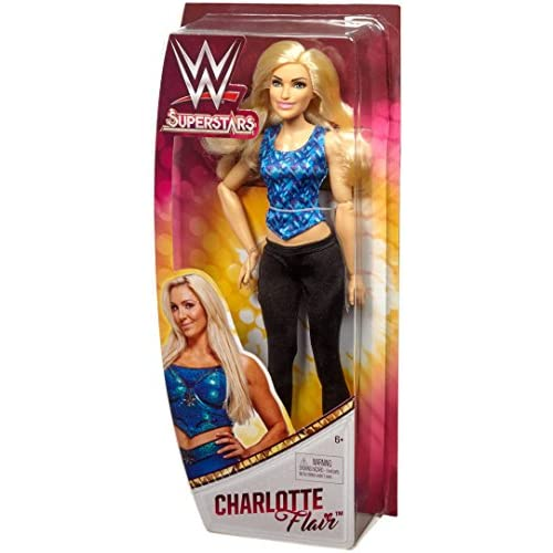 WWE - Poupée Catcheuse Charlotte Flair, FGW24