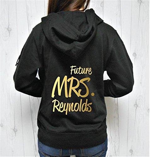 Future Mrs Last Name Hoodie, Future Mrs Hoodie, Future Mrs Zip-Up, Custom Last Name Hoodie, Personalized Name Hoodie Zip-up - Futures Sweatshirt