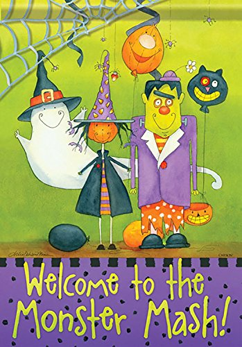 Monster Mash Halloween Double-Sided Banner
