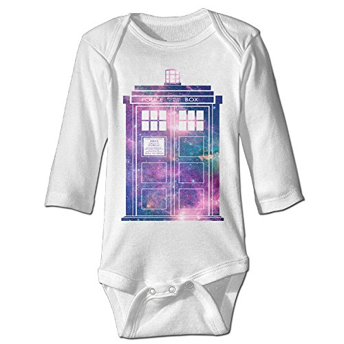 Police Call Box Costume (Missone Newborn Doctor Call Police Box DC WHO Long Sleeve Romper Bodysuit)