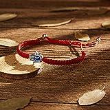MagiDeal Red String Kabbalah Evil Eye Charm