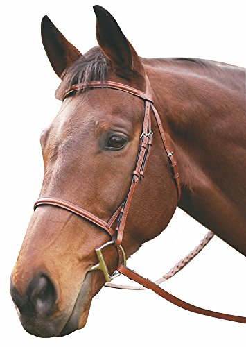 Henri de Rivel Advantage Plain Raised Snaffle Bridle