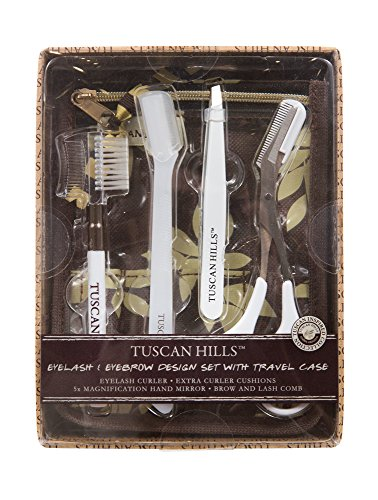 Tuscan Hills Perfect Eyebrow Design Kit with Travel Case